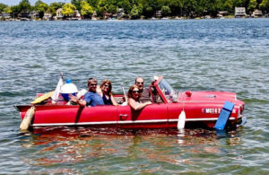 Amphicar on Union Lake - 5 tips to make your resume copy stand out